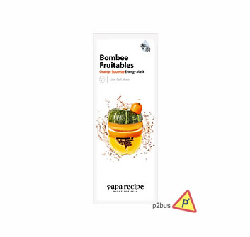 Papa Recipe Orange Squeeze Relaxing Mask (Energy) 10pcs