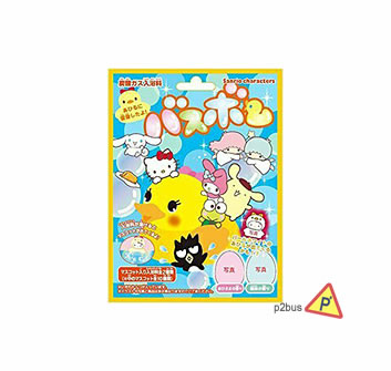 Sanrio Cartoon Beauty Bath Ball (Duck/ Forest Scent)